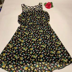 Bisou Womens Sz 16 Floral Spring / Summer Dress